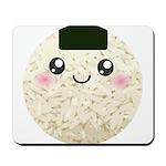 Cute Kawaii Rice Ball Mousepad
