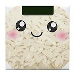 Cute Kawaii Rice Ball Tile Coaster