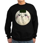 Cute Kawaii Rice Ball Sweatshirt (dark)