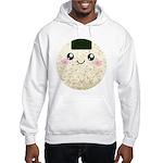 Cute Kawaii Rice Ball Hooded Sweatshirt