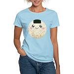Cute Kawaii Rice Ball Women's Light T-Shirt