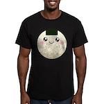 Cute Kawaii Rice Ball Men's Fitted T-Shirt (dark)