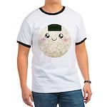 Cute Kawaii Rice Ball Ringer T