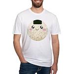 Cute Kawaii Rice Ball Fitted T-Shirt