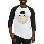 Cute Kawaii Rice Ball Baseball Jersey