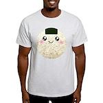Cute Kawaii Rice Ball Light T-Shirt
