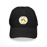 Cute Kawaii Sushi Roll Black Cap