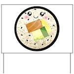 Cute Kawaii Sushi Roll Yard Sign
