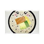 Cute Kawaii Sushi Roll Rectangle Magnet (100 pack)