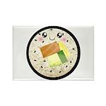 Cute Kawaii Sushi Roll Rectangle Magnet (10 pack)