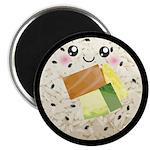 Cute Kawaii Sushi Roll Magnet