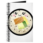Cute Kawaii Sushi Roll Journal