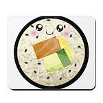 Cute Kawaii Sushi Roll Mousepad