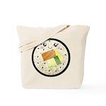 Cute Kawaii Sushi Roll Tote Bag