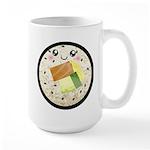 Cute Kawaii Sushi Roll Large Mug