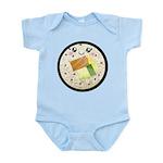 Cute Kawaii Sushi Roll Infant Bodysuit
