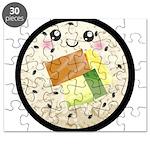 Cute Kawaii Sushi Roll Puzzle