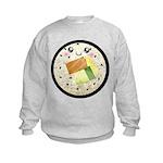 Cute Kawaii Sushi Roll Kids Sweatshirt