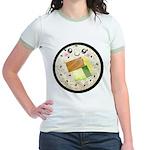 Cute Kawaii Sushi Roll Jr. Ringer T-Shirt