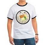Cute Kawaii Sushi Roll Ringer T