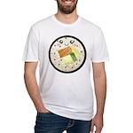 Cute Kawaii Sushi Roll Fitted T-Shirt