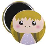 Kawaii cartoon Girl 2.25