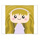 Kawaii cartoon Girl Small Poster