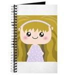 Kawaii cartoon Girl Journal