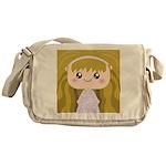 Kawaii cartoon Girl Messenger Bag