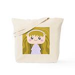 Kawaii cartoon Girl Tote Bag