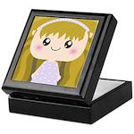 Kawaii cartoon Girl Keepsake Box