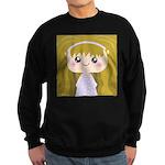 Kawaii cartoon Girl Sweatshirt (dark)
