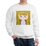 Kawaii cartoon Girl Sweatshirt