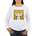 Kawaii cartoon Girl Women's Long Sleeve T-Shirt