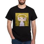 Kawaii cartoon Girl Dark T-Shirt