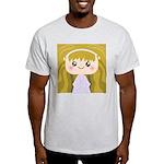 Kawaii cartoon Girl Light T-Shirt