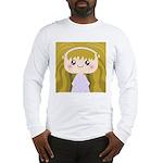 Kawaii cartoon Girl Long Sleeve T-Shirt