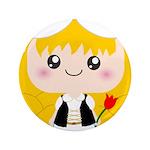 Cute Cartoon Girl from Holland 3.5