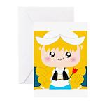 Cute Cartoon Girl from Holland Greeting Cards (Pk