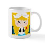 Cute Cartoon Girl from Holland Mug