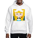 Cute Cartoon Girl from Holland Hooded Sweatshirt