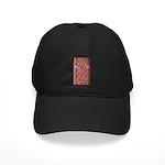 Cute Chocolate Cookie Black Cap