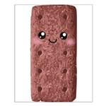 Cute Chocolate Cookie Small Poster