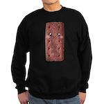 Cute Chocolate Cookie Sweatshirt (dark)