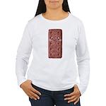 Cute Chocolate Cookie Women's Long Sleeve T-Shirt