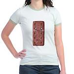 Cute Chocolate Cookie Jr. Ringer T-Shirt