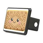 Cute Vanilla Cream Cookie Rectangular Hitch Cover