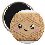 Cute Vanilla Cream Cookie Magnet