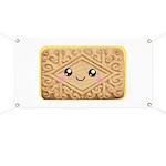Cute Vanilla Cream Cookie Banner
