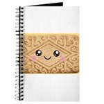 Cute Vanilla Cream Cookie Journal